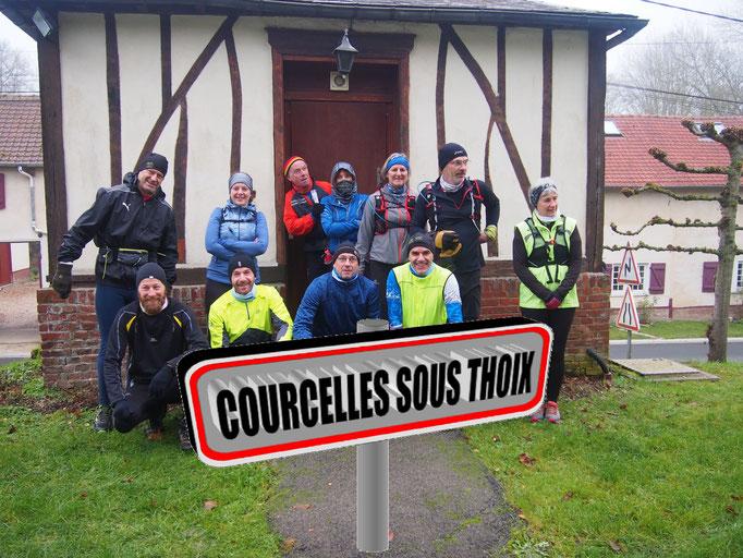 Sortie à Courcelles sous Thoix avec Martin (dép80 - 16km - Sam02/12/2017)