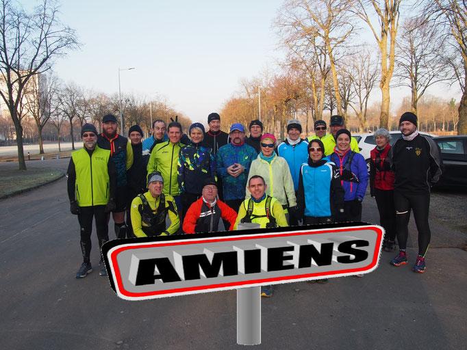 Sortie Trail Urbain à Amiens avec Martin (dép80 - 15km - Dim18/02/2018)