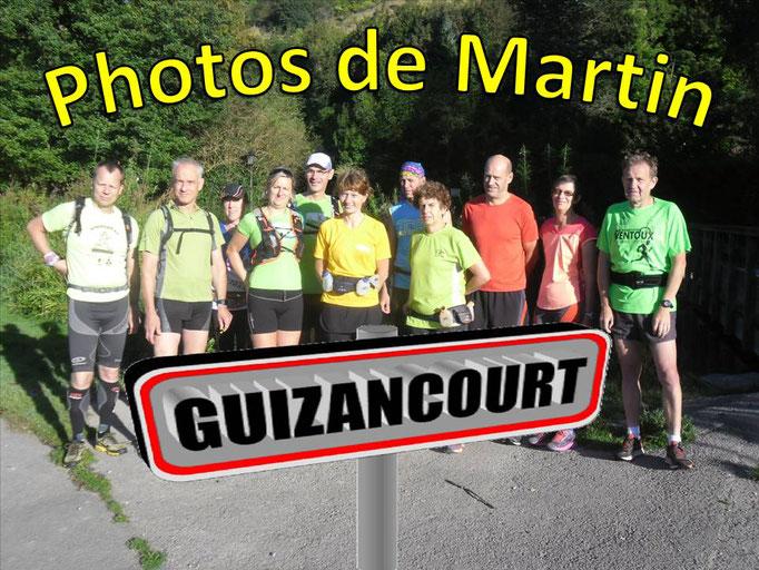 Sortie à Guizancourt avec Martin (dép80 - 15km - Sam10/09/2016)