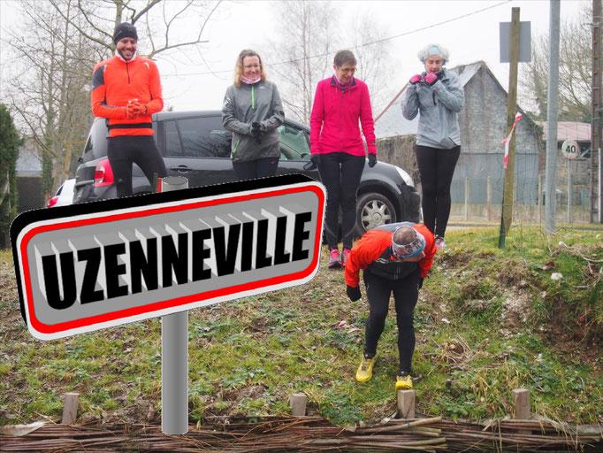 Sortie à Uzenneville avec Martin (dép80 - 10/15km - Sam11/02/2017)