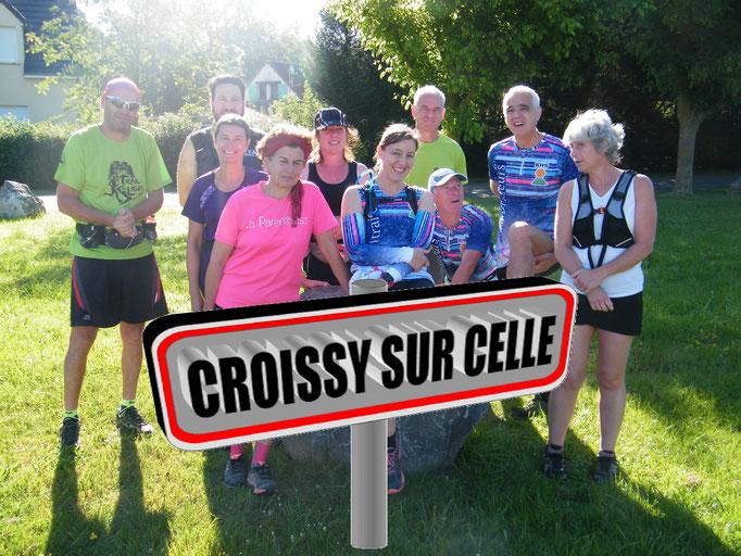 Sortie à Croissy/Celle avec Martin (dép60 - 17km - Sam23/06/2018)