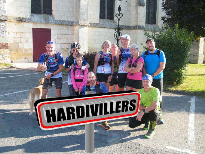 Sortie à Hardivillers avec David (dép60 - 16km - Sam01/09/2018)