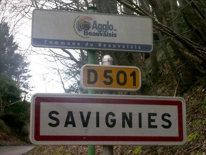 "Sortie ""reco"" à Savignies avec Martin (dép60 - 16/23km - Sam26/03/2016)"