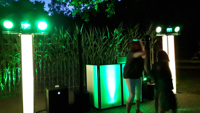 Licht im freien soo grün wie die Umgebung
