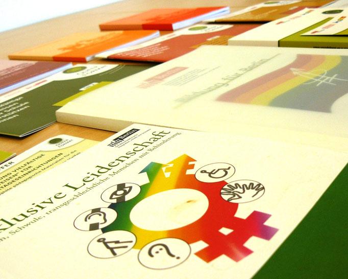 """Sexuelle und geschlechtliche Vielfalt (Bild: Broschüre """"Inklusive Leidenschaft"""", LADS Berlin)"""