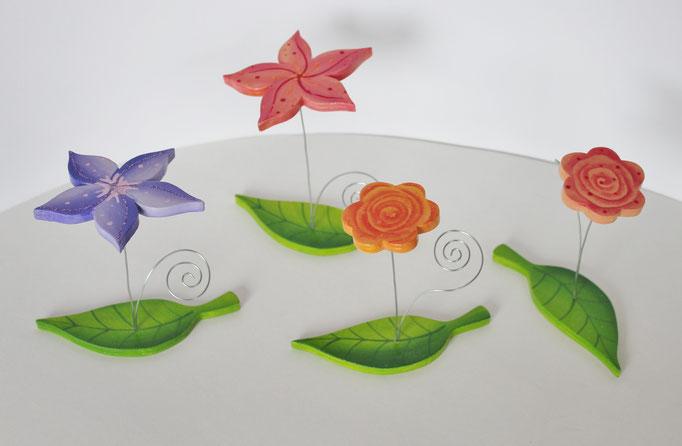 Notizhalter-Blume