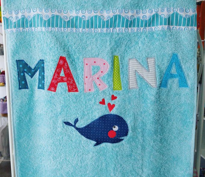 Handtuch mit Namen