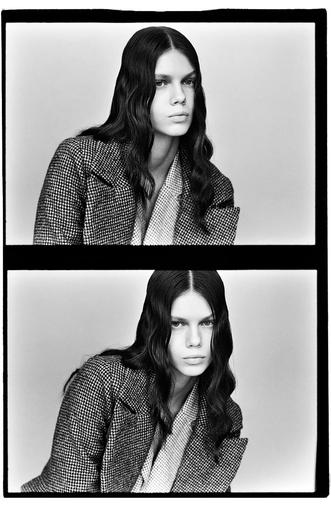 Photographer : Mathieu Rainaud /  Make up : Amelie Moutia / stylist : Anais Kevorian / Model : Katya Bybina