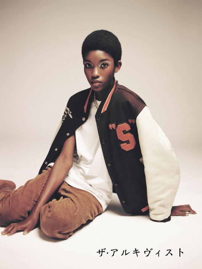 Photographer : Mathieu Rainaud /  Make up : Amelie Moutia / Stylist : The Archivist / Model : Laura Reyes - IMG Models