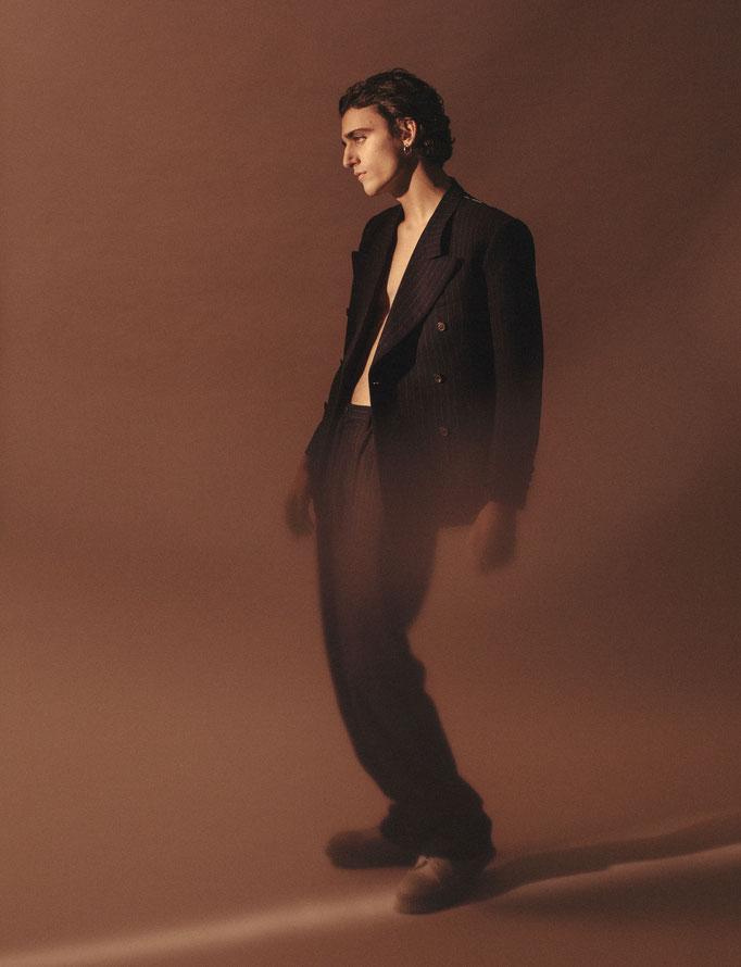 Editorial with Tamino for Modzik magazine / Photographer : Pascale Arnaud
