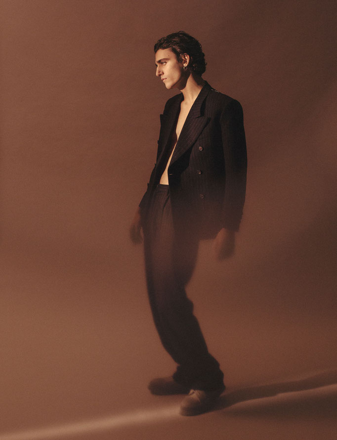Editorial with Tamino for Modzik magazine / Photographer : Pascale Arnaud