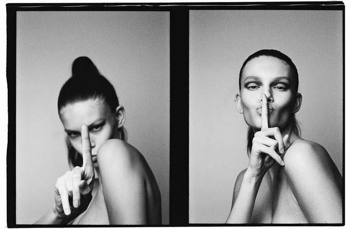 Photographer : Mathieu Rainaud /  Make up : Amelie Moutia / Stylist :