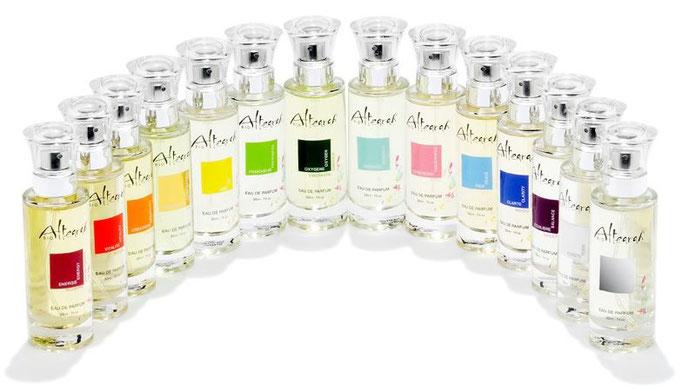 Les parfums de soin Altearah