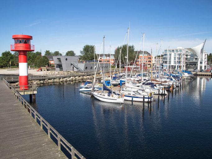 Stadthafen Eckernförde, Hochbildaufnahme