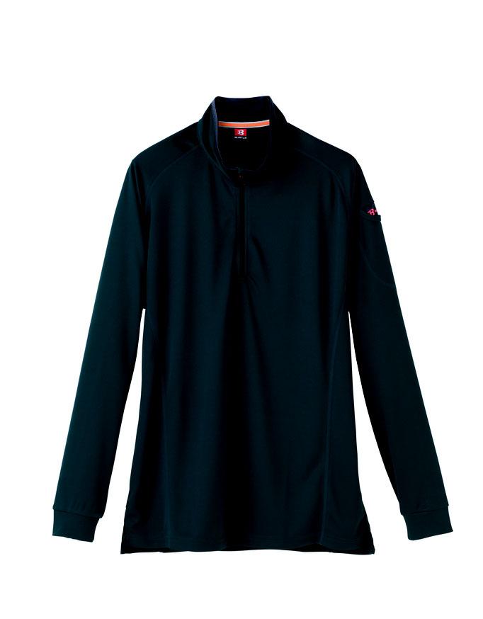 BURTLE(バートル)413 ジップシャツ  17 クーガー