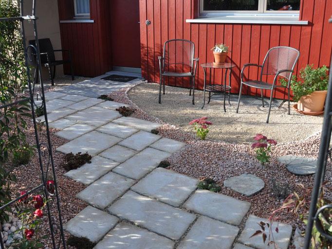 Betonplatte Schistone