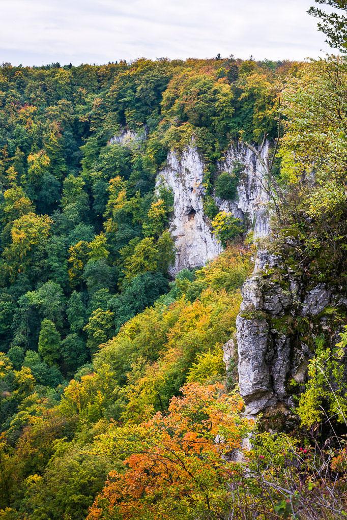Rutschenfelsen, Schwäbische Alb