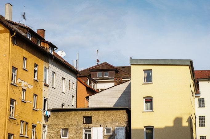 Stuttgart, an der Cottastraße