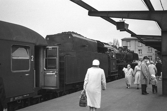 Braunschweiger Hbf, 1959 I  Copyright by Stiftung Eisenbahn Archiv Braunschweig