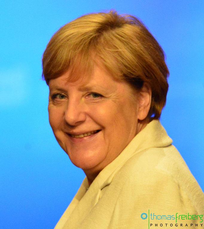 Angela Merkel - Copyright © - Thomas Freiberg - All Rights reserved.