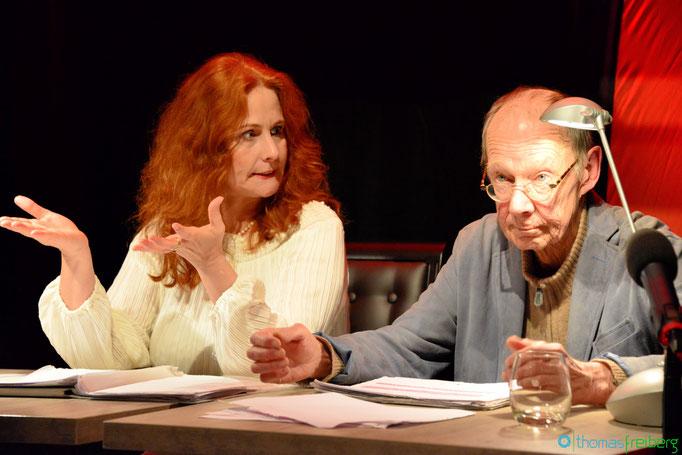 Christiane Leuchtmann und Hans Peter Korff