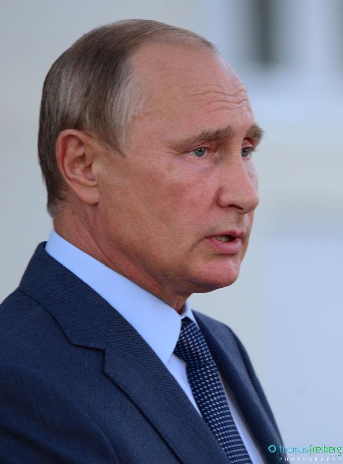 Wladimir Wladimirowitsch Putin - Copyright © - Thomas Freiberg - All Rights reserved.