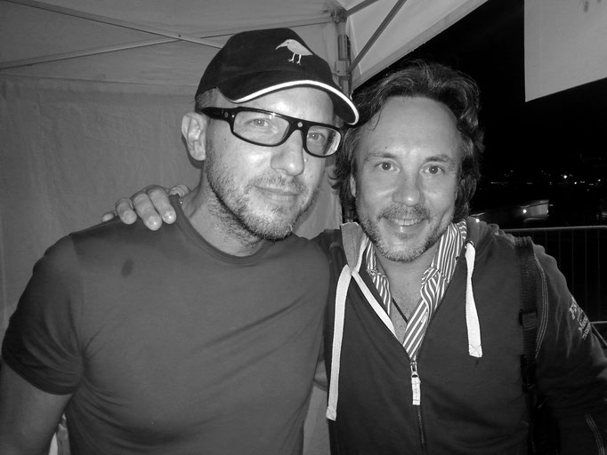 with Antonio Faraò
