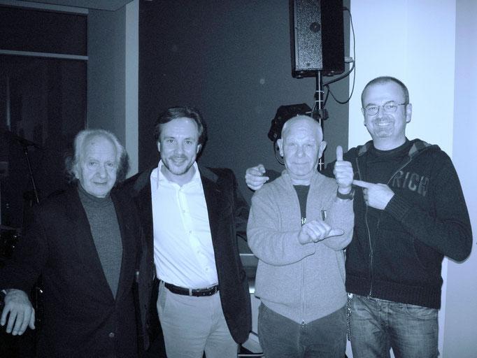 with Mario Rusca | Gianni Cazzola | Stefano Bagnoli
