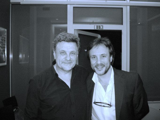 with Tino Tracanna