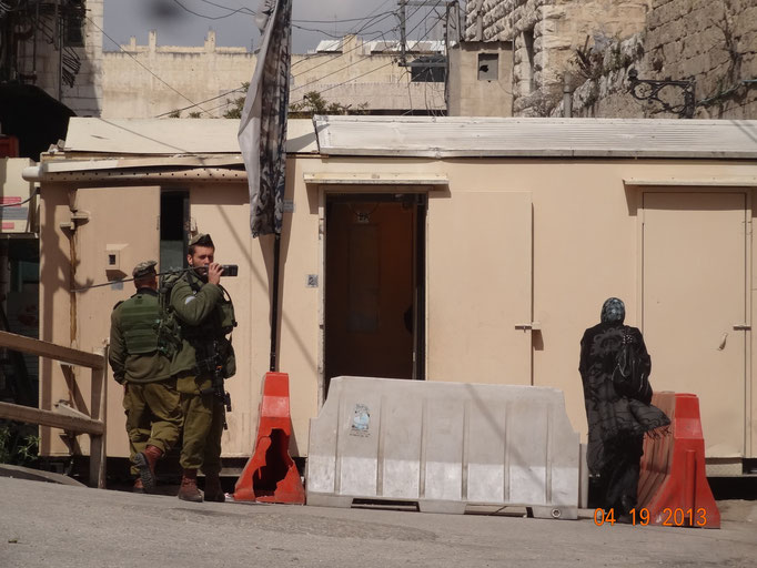 Checkpoint, Hebron