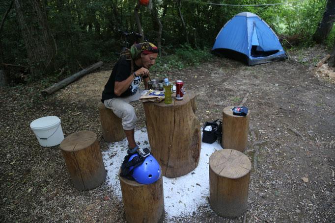 camp, cetina