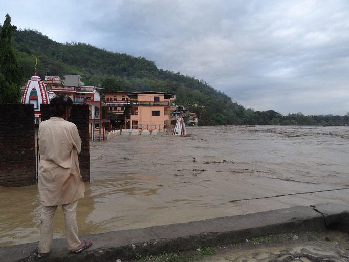 Rishikes, Hochwasser