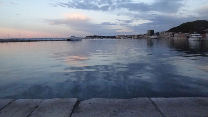 Split, sunrise