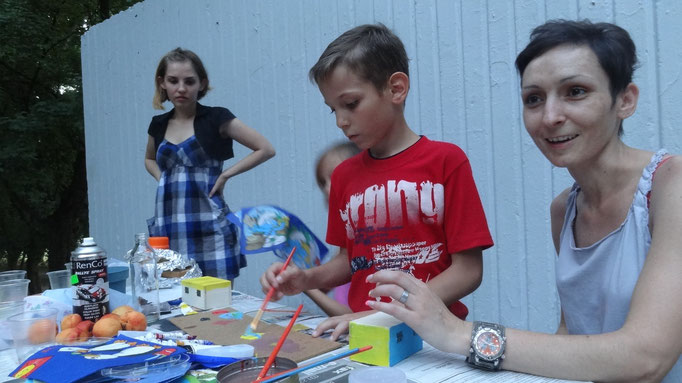 """ARLA- Festival"", Dakovo, workshop with children"