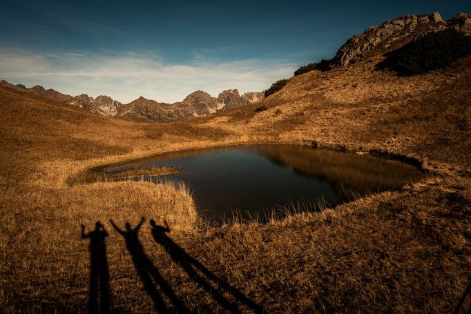 Wunderschöner See auf dem Plateau