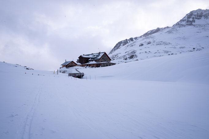 Die Franz-Senn-Hütte ist der ideale Stützpunkt