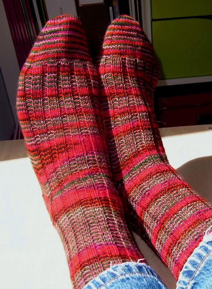 bunte wolle - Socke 425