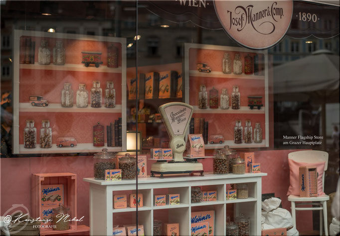 Manner Flagship Store am Grazer Hauptplatz