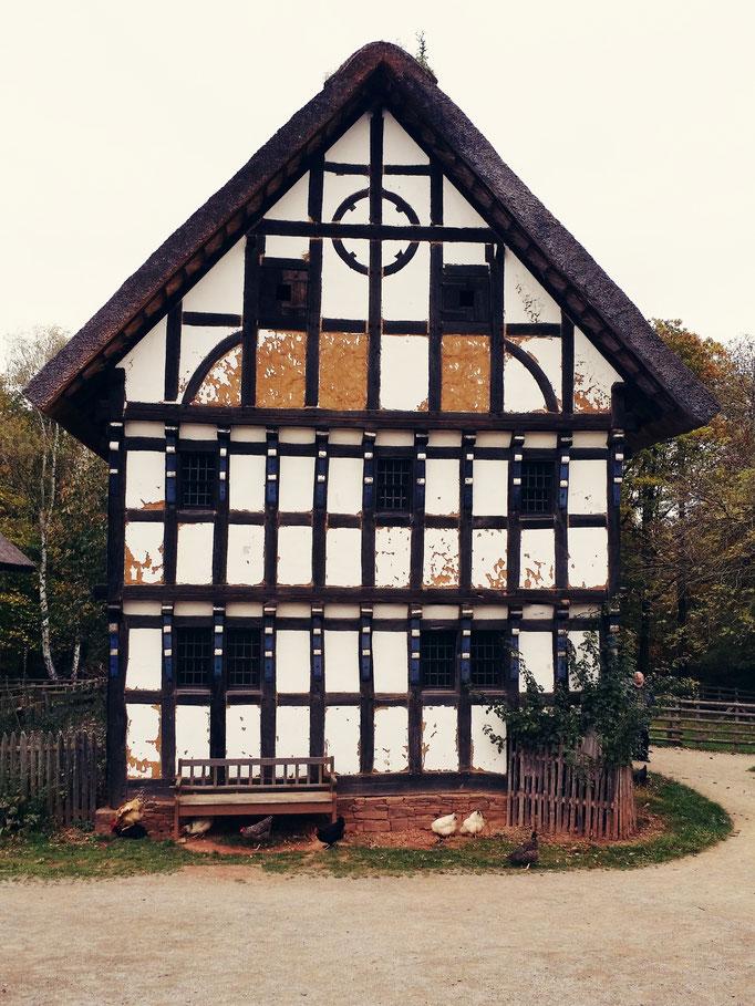 Freilichtmuseeum Kommern - Fachwerkhaus