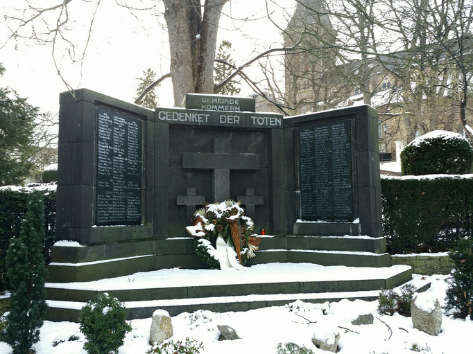Kommern - Denkmal