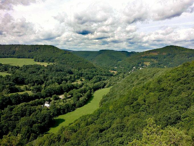 Nideggen - Ausblick von Burg