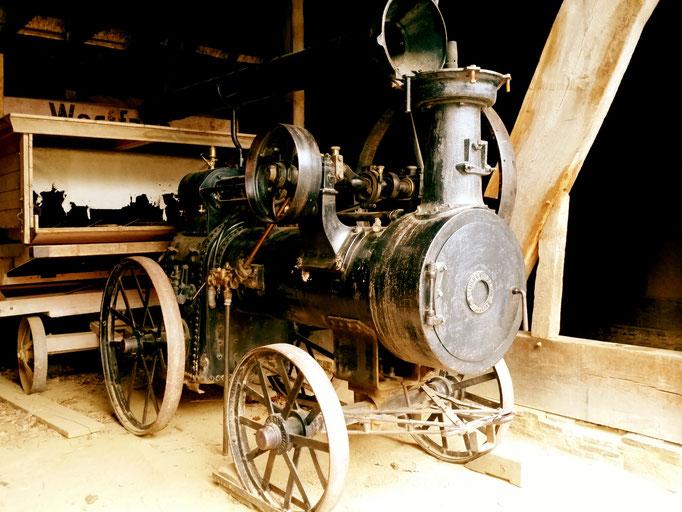 Freilichtmuseeum Kommern - Alte Dampfmaschine