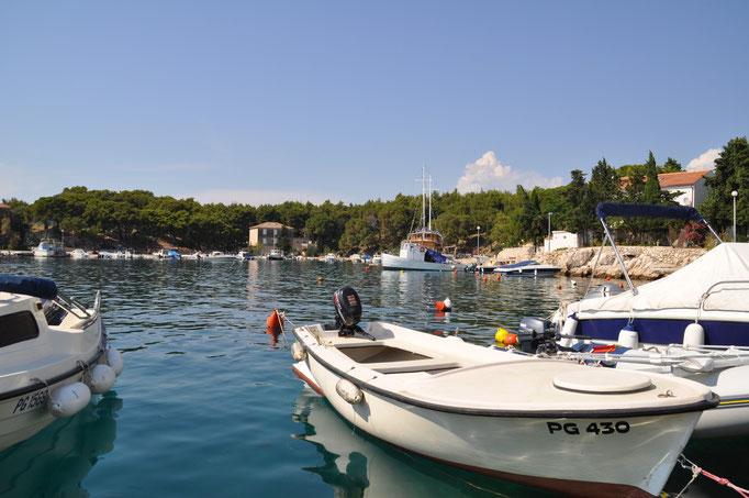 Romantisches Mandre in Kroatien