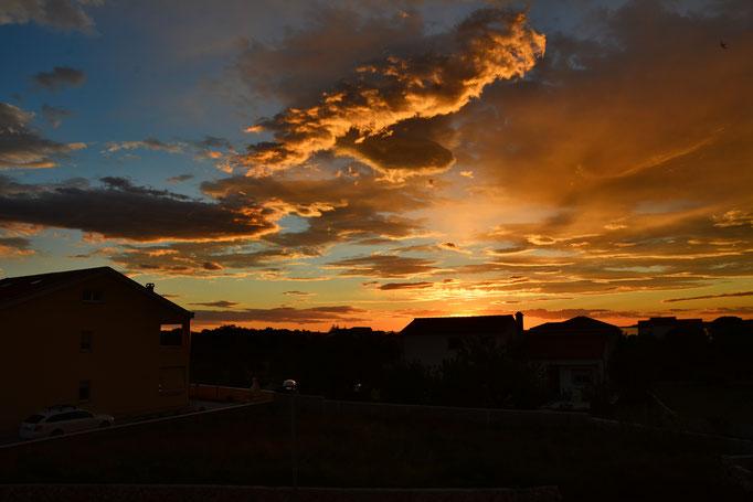 Sonnenuntergang in Zaton