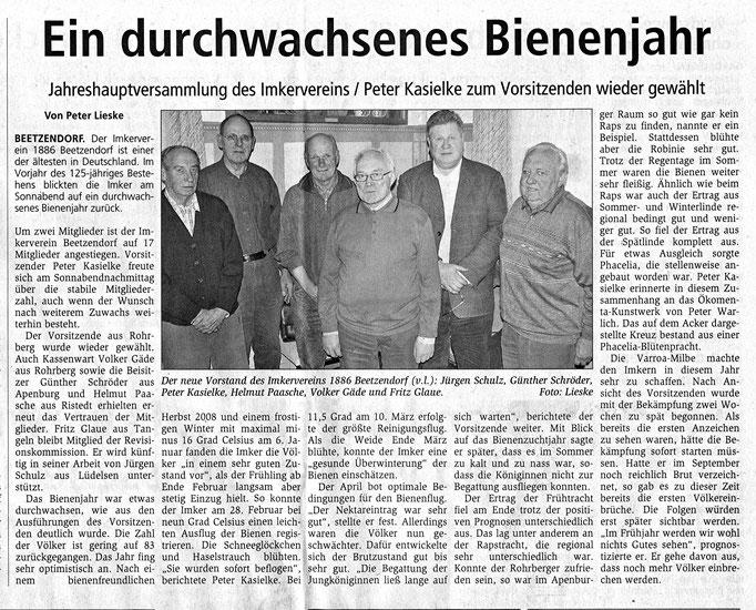 11.1.2010 Altmarkzeitung