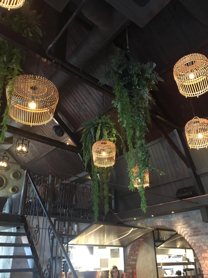 Verlichting en Groen decoratie Gossi Mijne Uden