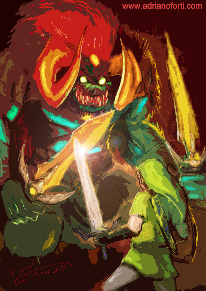 """Ganon - from """"The Legend of Zelda: Ocarina of Time"""""""