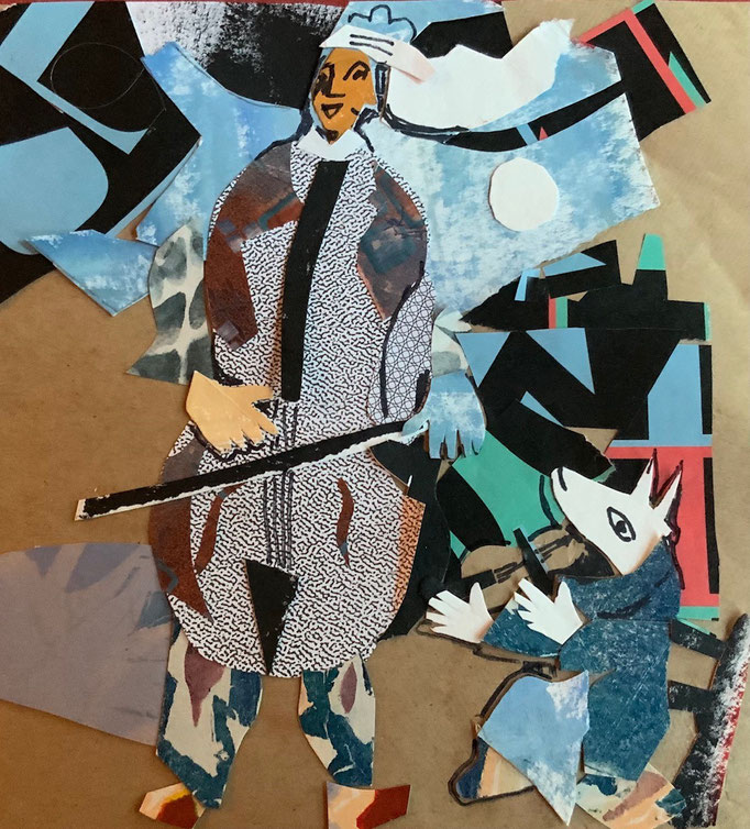 Collage by Rena Sava