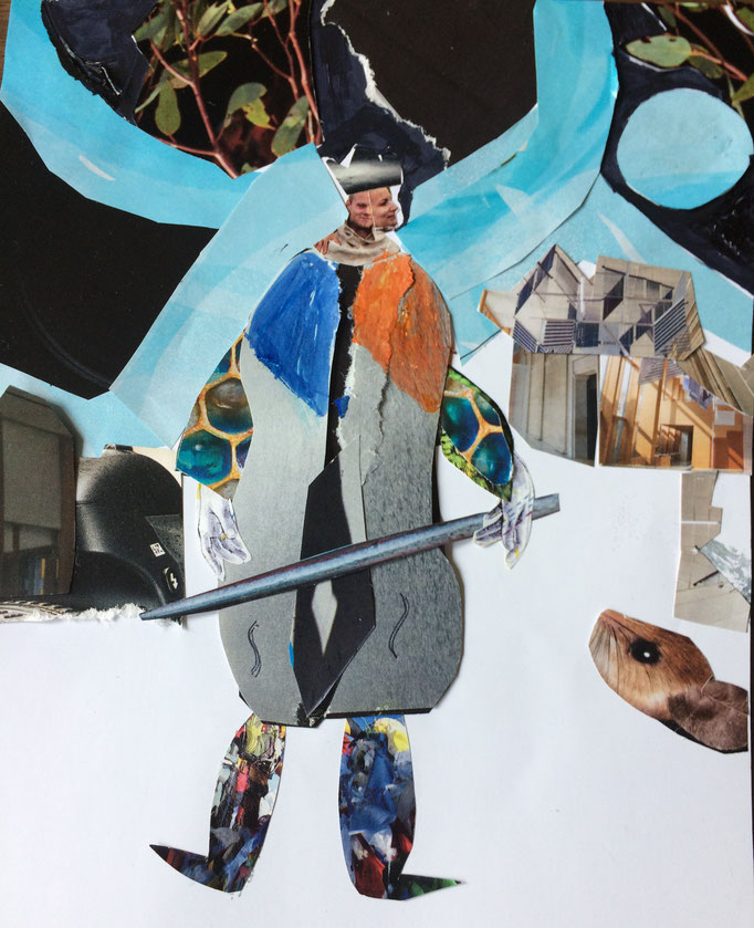 Collage by Tonie Norman