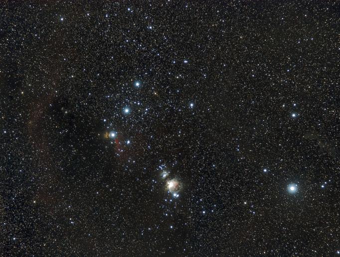 Orionwidefield im Herbst, Ende Oktober 2014